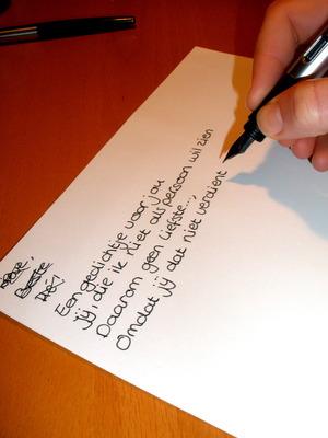 Een Gedichtje Voor Jou Gedichten Proud2bme