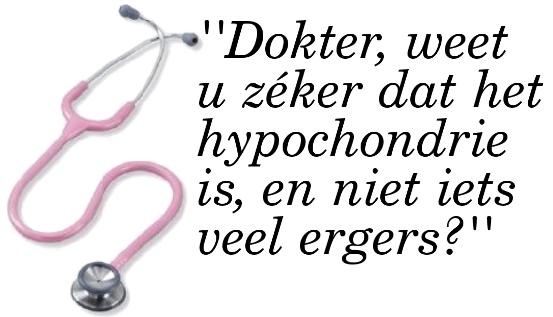 Hypochondrie De Psychologie Van Proud2bme