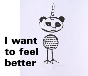 i want to feel better