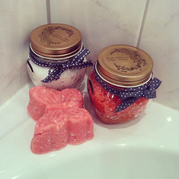 Diy zelf zeepjes en scrubzout maken beautyblog proud2bme for Dingen voor moederdag