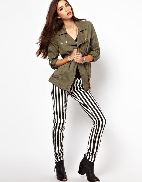 Super Verticaal zwart wit gestreept - Fashionblog - Proud2bme UX-97