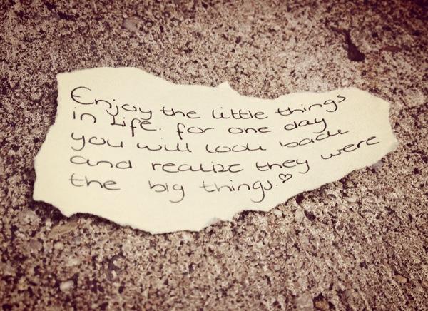 Mooie kleine dingen in het leven proud2live proud2bme for Wat is het leven