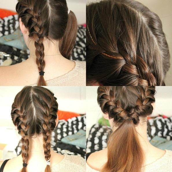 Hedendaags Zes leuke en eenvoudige kapsels - Beautyblog - Proud2bme YW-06