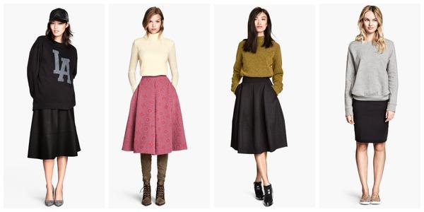 Sweaters met rokken Fashionblog Proud2bme