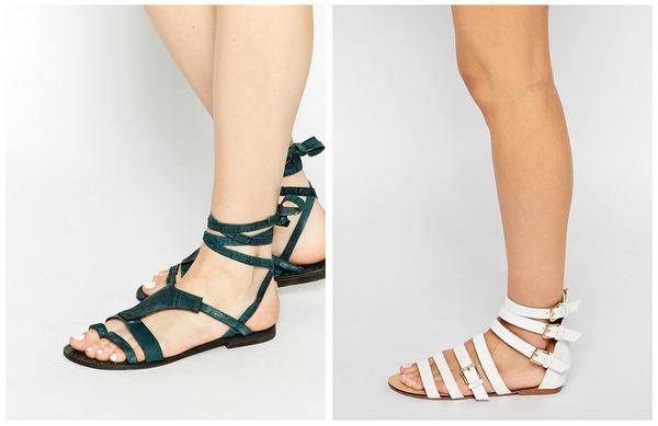 Hot or not: Gladiator Sandalen Fashionblog Proud2bme