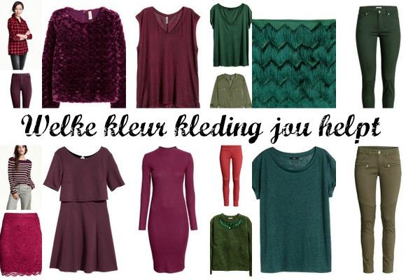 Welke kleur kleding jou helpt Fashionblog Proud2bme