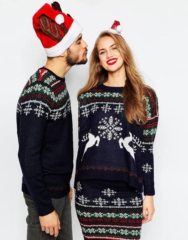 Kersttrui Jurk.5x Feestelijke Kleding Dragen Fashionblog Proud2bme