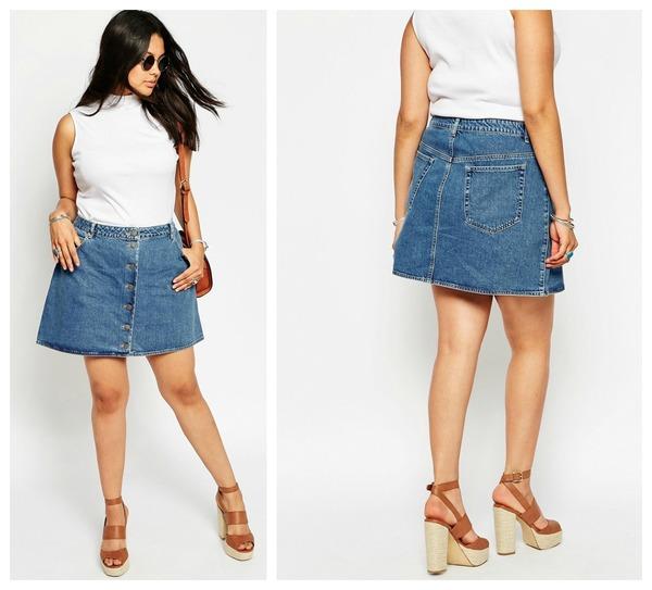 Trend  Spijkerrokjes - Fashionblog - Proud2bme 7fdb0185011