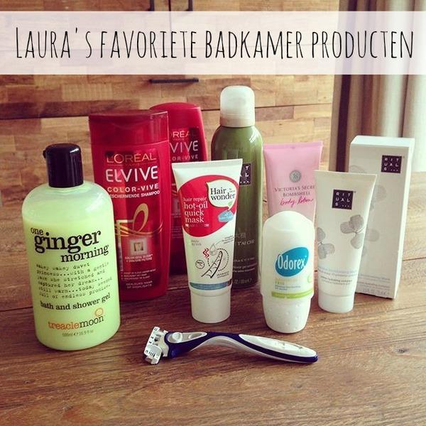 Laura\'s favoriete badkamer producten - Beautyblog - Proud2bme