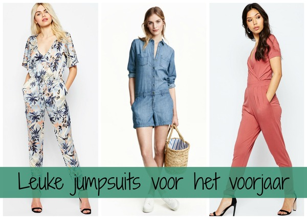 ca98fbe64fd4f9 jumpsuit. Leuke jumpsuits voor zomer 2016 - Fashionblog - Proud2bme