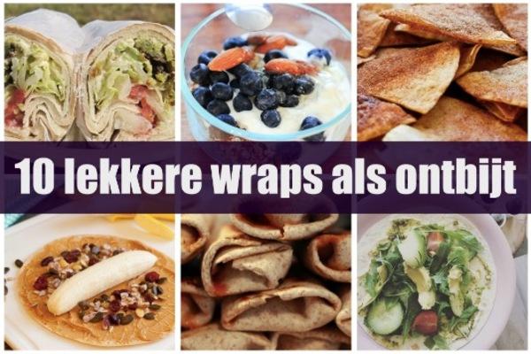 Wonderlijk 10x ontbijten met wraps - Proud2Cook - Proud2bme IM-62