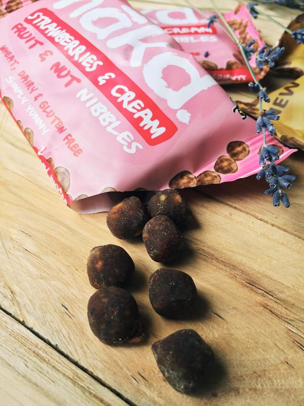 Nakd Nibbles bliss treat cream salted vegan