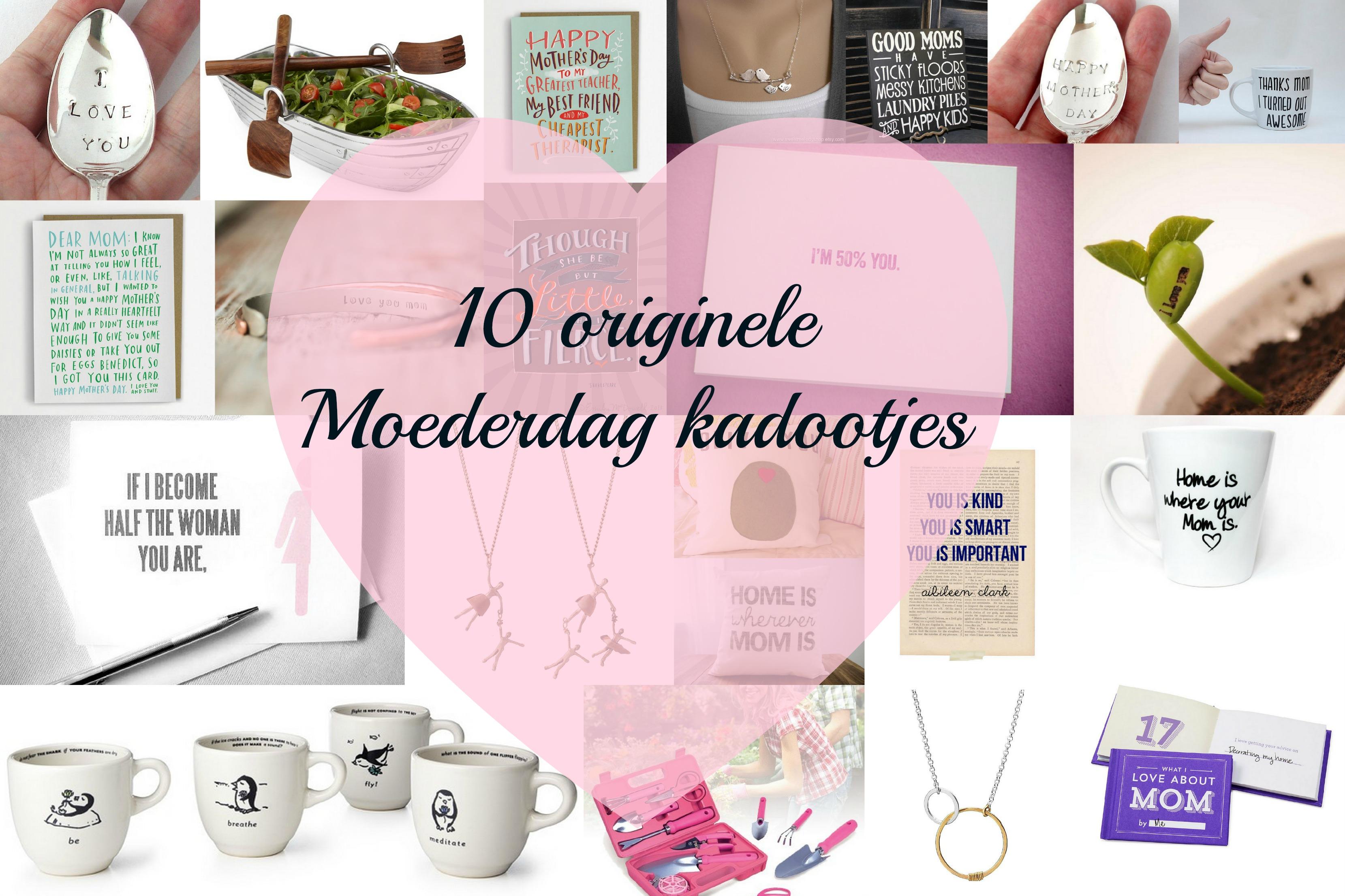10 Originele Moederdag Kados Proud2smile Proud2bme