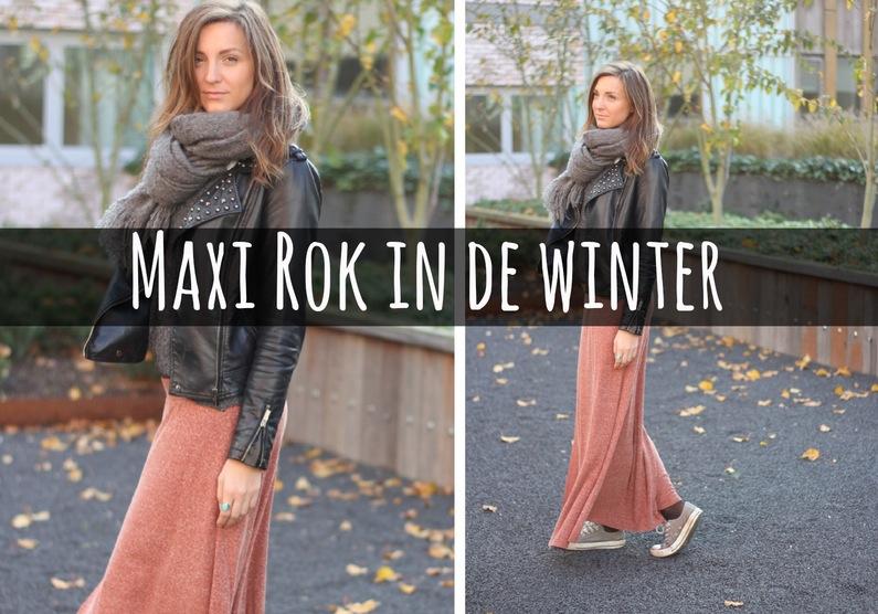 Beroemd Maxi rok dragen in de winter - Fashionblog - Proud2bme #CD17