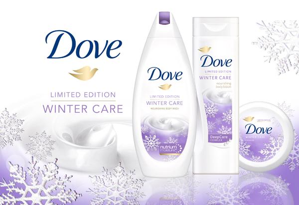 Limited edition: dove winter care