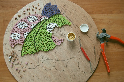 DIY  Proud2Bme mozaiek tafeltje   Proud2Live   Proud2bme