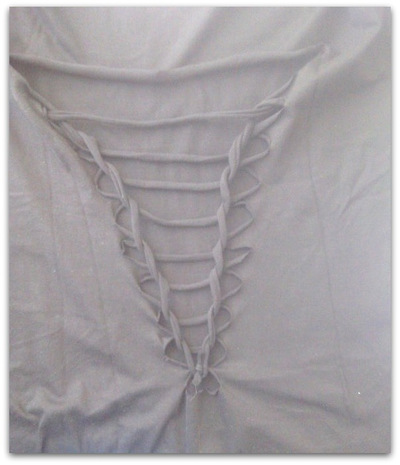 shirt knippen vlechten